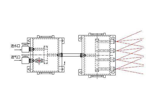 ZCPZ-4/11綜采機機載噴霧裝置