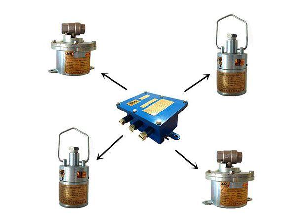 ZP127礦用自動灑水降塵裝置---風水聯動噴霧降塵裝置