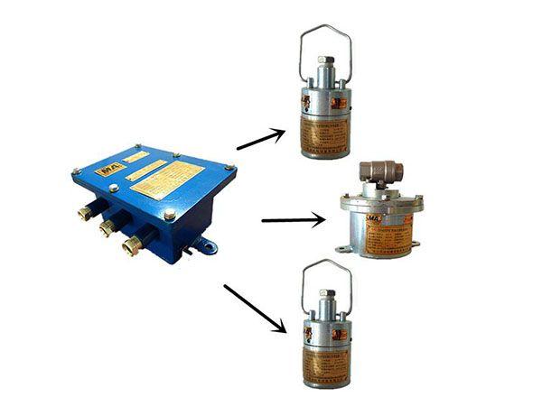 ZP127礦用自動灑水降塵裝置---大巷自動灑水降塵裝置