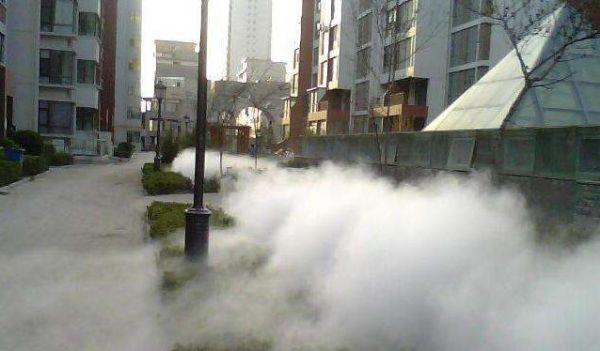 講解氣動定時噴霧降塵裝置工作原理